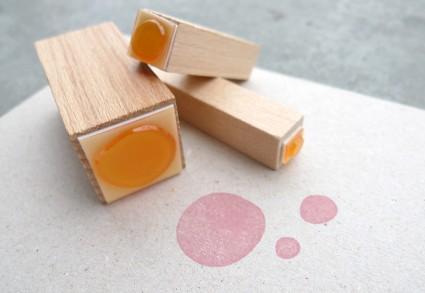 Stempel karamelo Punkte-Set