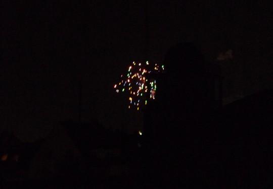 Feuerwerk über Köln