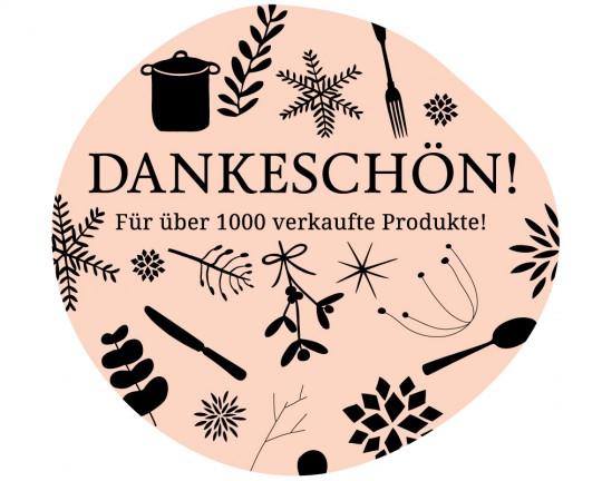 Danke für über 1000 verkaufte Produkte!