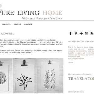 Pure Living Home – Today I'm Loving