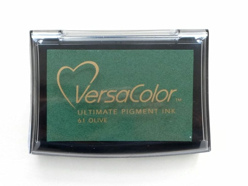 Stempelkissen Olive Nr. 61 VersaColor | STUDIO KARAMELO