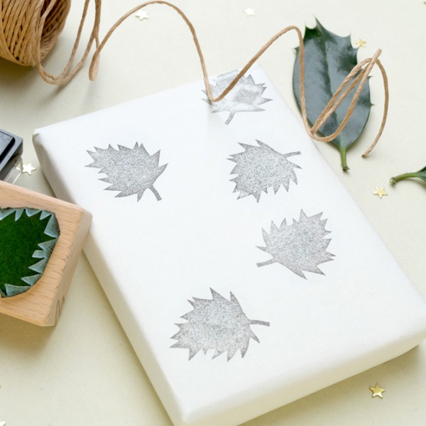 Weihnachtsstempel Ilex | christmas rubber stamp holly