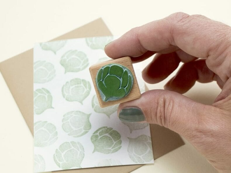 Ministempel, Weihnachtsstempel Zapfen Zypresse | STUDIO KARAMELO