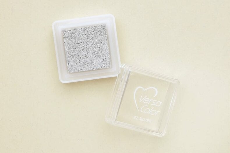 Stempelkissen Silber von VersaColor | inkpad silver versacolor