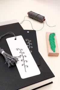 Stempel Farn Kringelpflanze | STUDIO KARAMELO