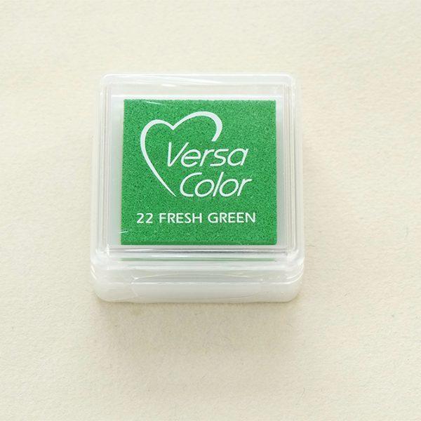 Stempelkissen hellgruen VersaColor hellgrün | rubber stamp ink pad fresh green | STUDIO KARAMELO