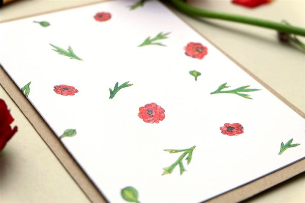 Greeting-Card Buttercup || studiokaramelo