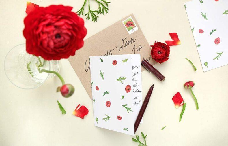 Greeting-Card Buttercup || studiokaramelo