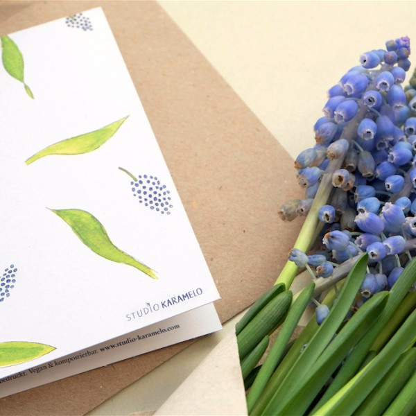 Greeting-Card Hyacinth || studiokaramelo