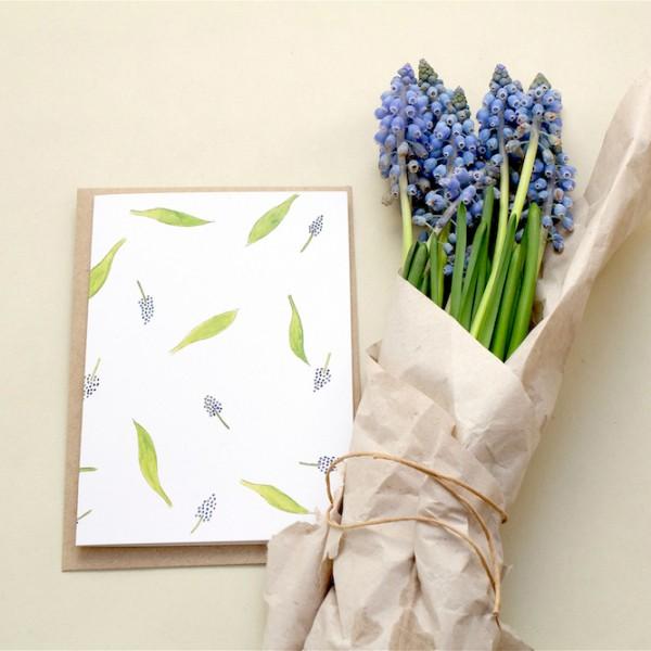 Greeting-Card Hyacinth || studiokaramelo