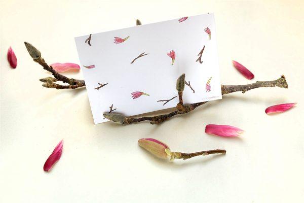 Greeting Card Magnolia || studiokaramelo