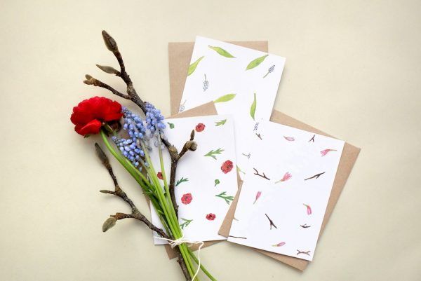 Greeting-Cards Flowers Springtime || studiokaramelo