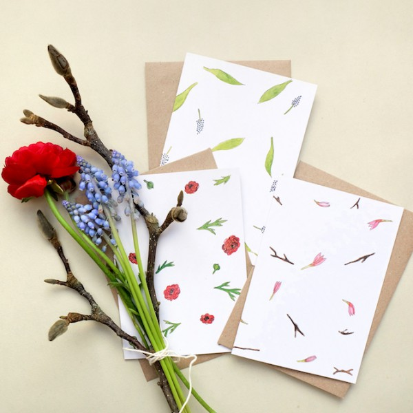 Greeting-Cards Flowers Springtime || studiokaramelo