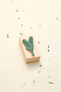 Rubber Stamp Lavender    studiokaramelo