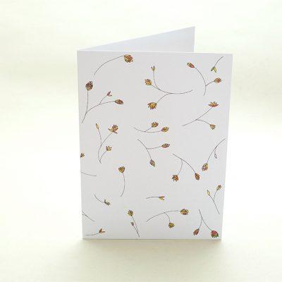 Grußkarte Graeser   Greeting Card grasses   studiokaramelo
