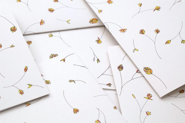 florale Grußkarte Graeser | Greeting Card grasses | studiokaramelo