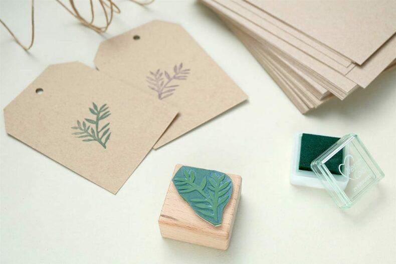 Weihnachtsstempel Konifere | christmas rubber stamp cypress | STUDIO KARAMELO