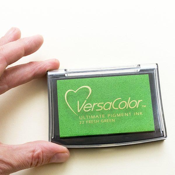 Stempelkissen Versa Color Fresh Green, Hellgrün, Knallgrün, Apfelgrün | STUDIO KARAMELO