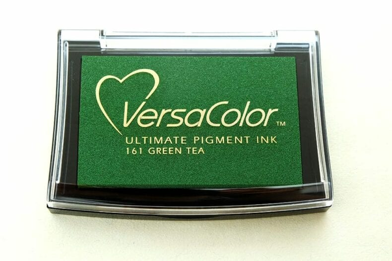 Stempelkissen VersaColor Green Tea, Nr. 161 | STUDIO KARAMELO | ink pad versacolor green tea