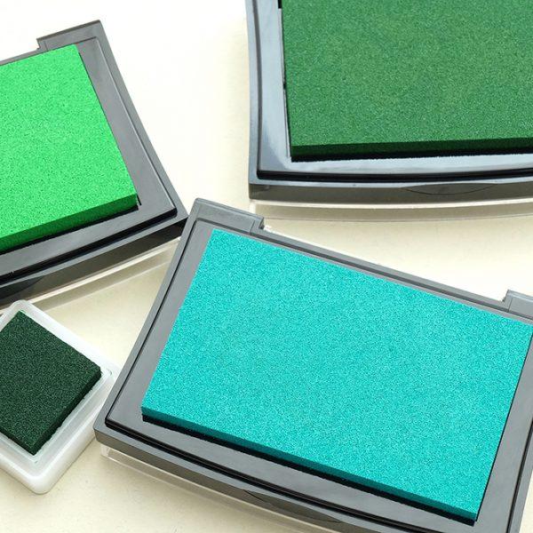 Stempelkissen VersaColor, grün, silber und türkis | STUDIO KARAMELO