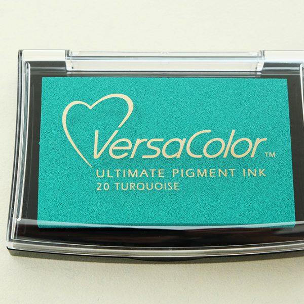 Stempelkissen VersaColor türkis, Nr. 20 | STUDIO KARAMELO | ink pad versacolor turquoise