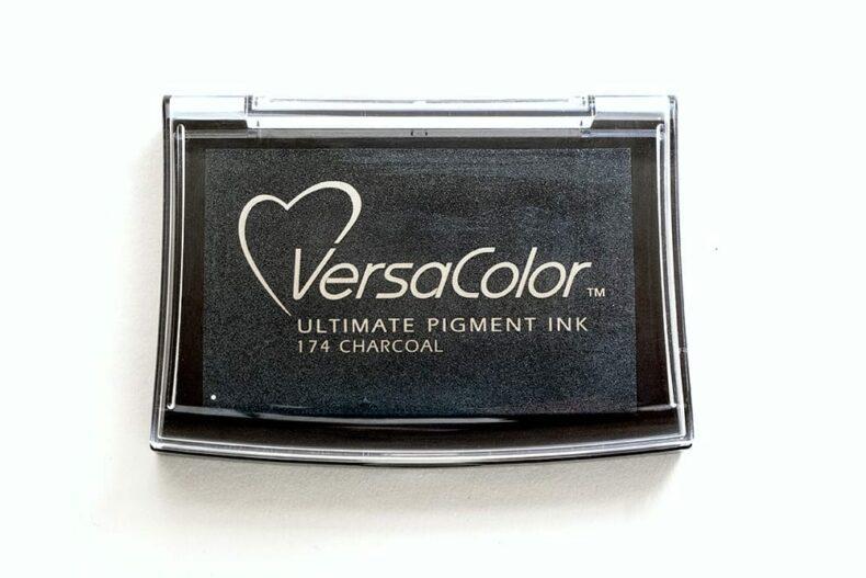 Stempelkissen VersaColor Charcoal Nr. 174 (Anthrazit)