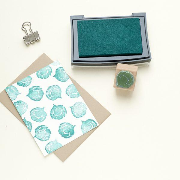 Stempelkissen Wintergreen, Wintergrün, VersaColor | STUDIO KARAMELO | green ink pad