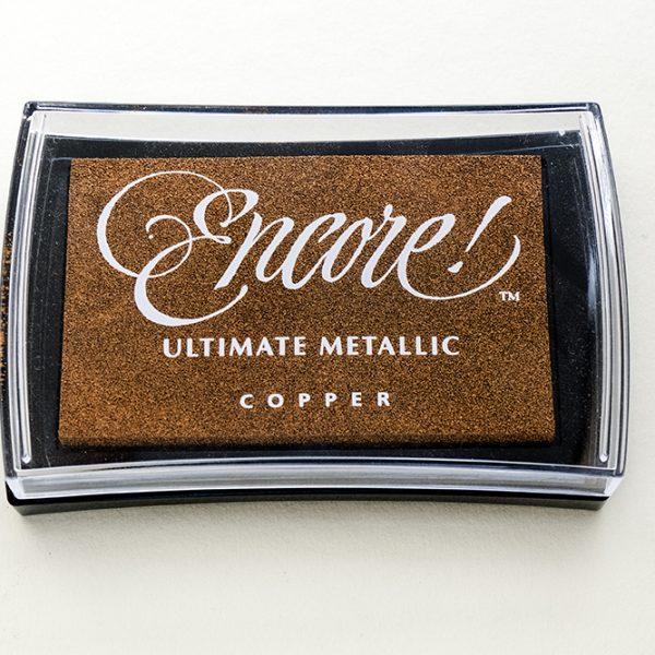 Stempelkissen Kupfer von Encore, Metallic | STUDIO KARAMELO