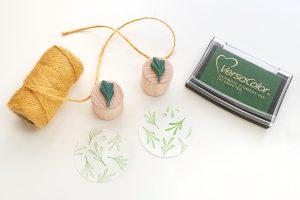 Mini-Stempel-Set Pflänzchen, Sukkulenten || STUDIO KARAMELO | rubber stamp set, mini stamps, succulents