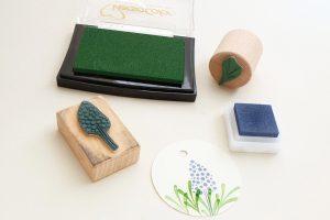 Mini-Stempel-Set Pflänzchen, Sukkulenten    STUDIO KARAMELO   rubber stamp set, mini stamps, succulents