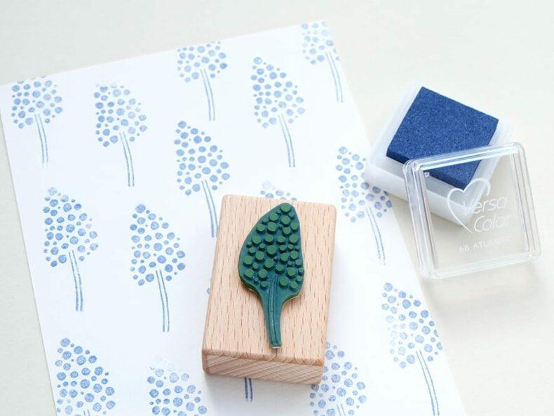 Stempel Hyazinthe Ministempel Frühling | rubber stamp hyacinth | STUDIO KARAMELO