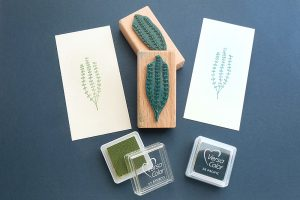 Stempel kleine Alge, Seegras    STUDIO KARAMELO   rubber stamp seaweed