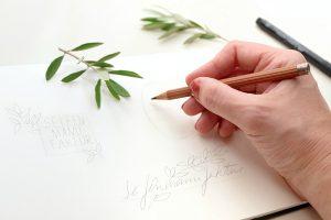 Florale Logos & Branding für Webseiten und Hochzeiten von STUDIO KARAMELO