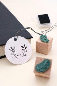 Mini-Stempel Set Zweige, florale Stempel, Holzstempel   STUDIO KARAMELO