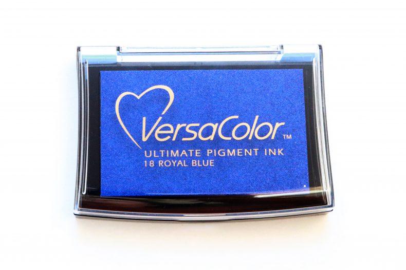Stempelkissen Royal Blue VersaColor blau