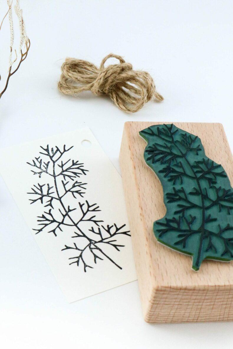 Stempel Unterwasserpflanze #03 Seegras Alge | STUDIO KARAMELO