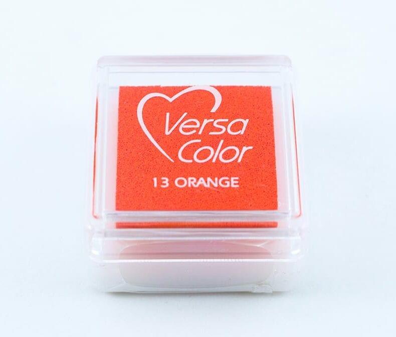 Stempelkissen Orange Mini Stempelkissen Versacolor | STUDIO KARAMELO