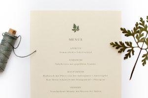 Hochzeitseinladung – Green Wedding, umweltfreundliche Hochzeitspapeterie, Recyclingpapier, Einladung Hochzeit | STUDIO KARAMELO