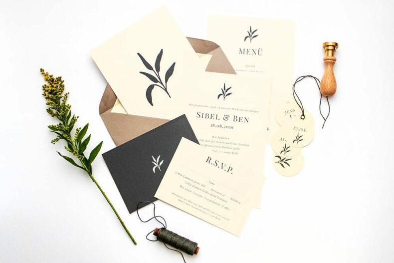 Solidago – umweltfreundliche Hochzeitspapeterie, floral, Green Wedding | STUDIO KARAMELO