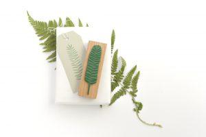 Stempel Sukkulente, Farnwedel, floraler Stempel | STUDIO KARAMELO