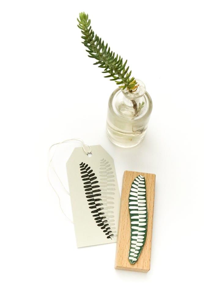 Stempel Farnwedel, floraler Stempel | STUDIO KARAMELO