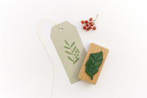 Stempel Zweig mit Beeren, Gartenstempel, Liguster, floraler Stempel | STUDIO KARAMELO