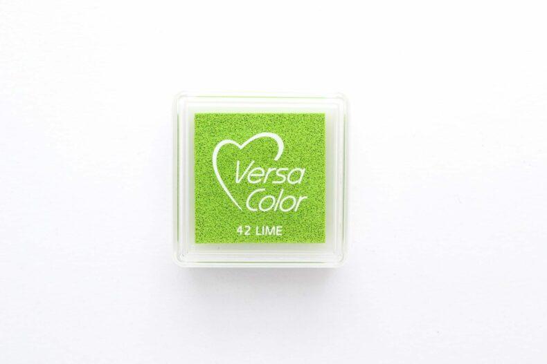 Stempelkissen Versa Color Mini Lime (hellgrün) | STUDIO KARAMELO
