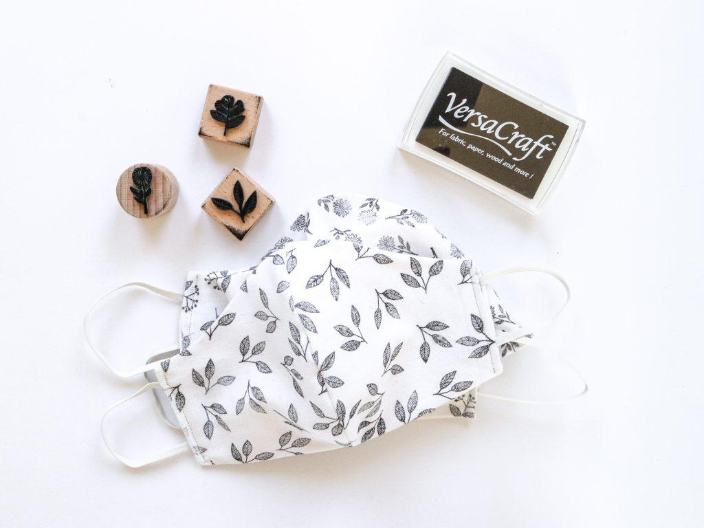 VersaCraft schwarz Textilstempelkissen, Stempelkissen für Stoff | STUDIO KARAMELO