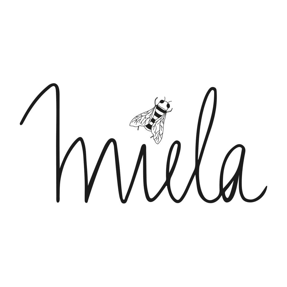 Logo Imker für Honigketikett Biene