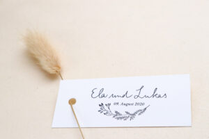 Hochzeitsstempel mit Namen und Datum – Stempel für eure Hochzeit