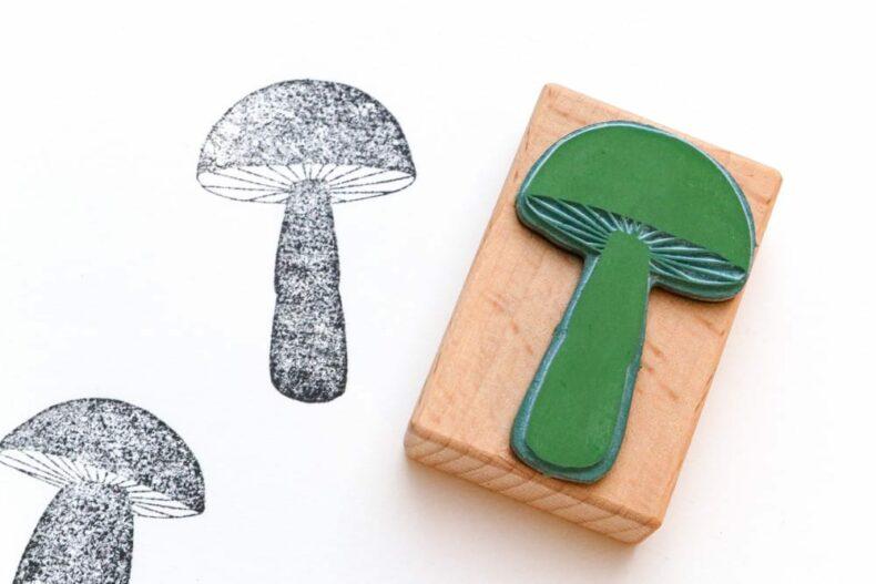 Pilzsstempel verschiedene Motive