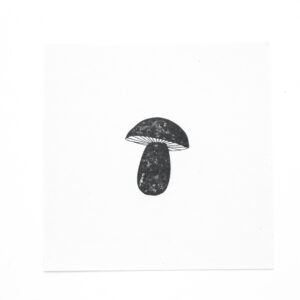 Stempel kleiner Pilz (Champignon)