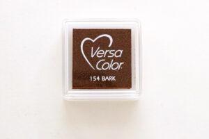 Mini Stempelkissen braun (bark) von Versa Color