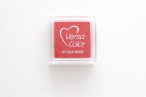 Mini Stempelkissen Altrosa (old rose) von Versa Color